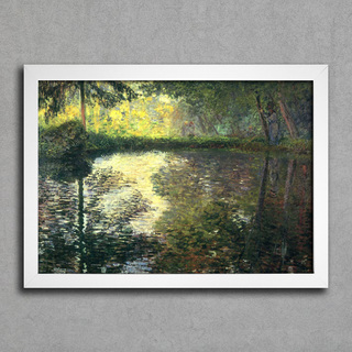 Monet - Pond at Montgeron