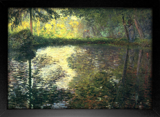 Imagem do Monet - Pond at Montgeron