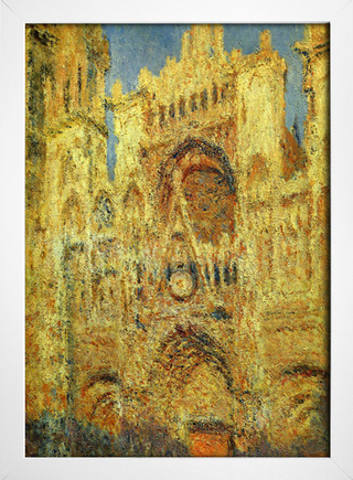 Monet - Rouen Cathedral at Sunset - loja online