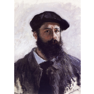 Monet - Self Portrait