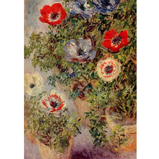 Monet - Still Life With Anemones