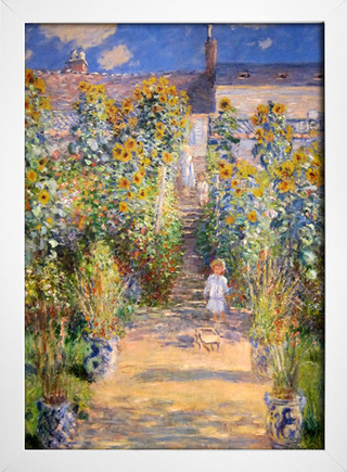 Monet - The Artist's Garden at Vetheuil - loja online