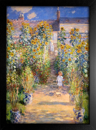 Imagem do Monet - The Artist's Garden at Vetheuil