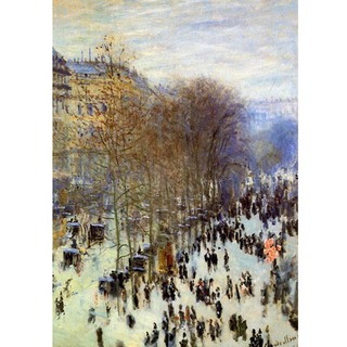 Monet - The Boulevard des Capucines Sun