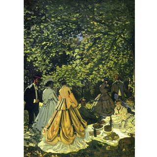 Monet - The Picnic Le Dejeuner Sur i Herbe