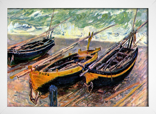 Monet - Three Fishing Boats - loja online