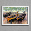 Monet - Three Fishing Boats - comprar online
