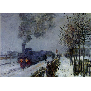 Monet - Train in the Snow