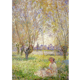 Monet - Woman Sitting Under the Willows