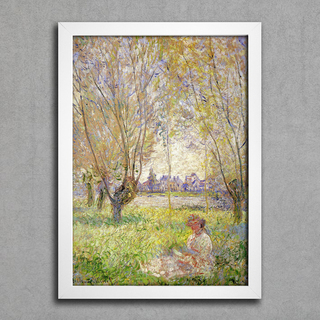 Monet - Woman Sitting Under the Willows - comprar online