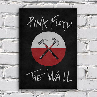 Poster Pink Floyd - The Wall - Encadreé Posters