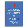 Poster David Bowie Ground Control to Major Tom - loja online