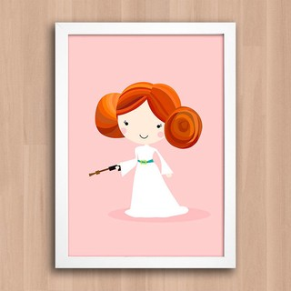 Poster Star Wars - Princesa Leia na internet
