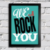 Poster Queen - We Will Rock You