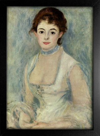 Imagem do Renoir - Retrato de Madame Henriot