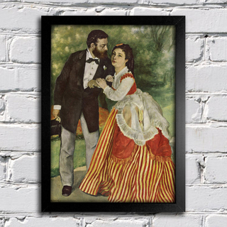 Renoir - Retrato do Casal Sisley