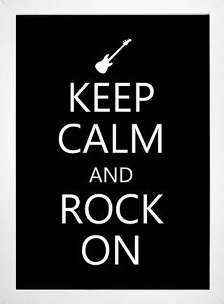 Imagem do Poster Keep Calm and Rock On