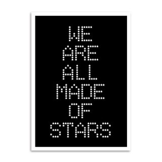 Poster Moby - We Are All Made Of Stars na internet
