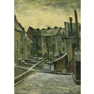Van Gogh - Houses Seen From The Back