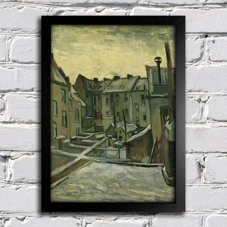 Van Gogh - Houses Seen From The Back - comprar online