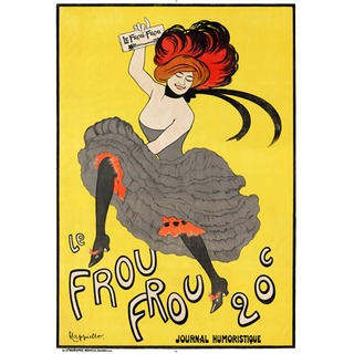 Poster Le Frou Frou na internet