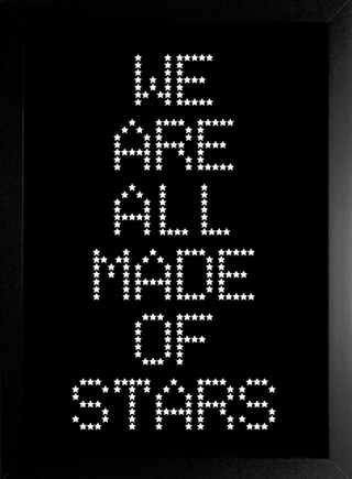 Poster Moby - We Are All Made Of Stars - comprar online
