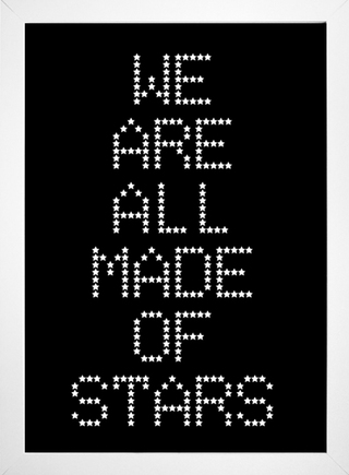 Poster Moby - We Are All Made Of Stars