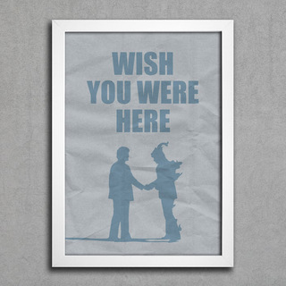 Poster Pink Floyd - Wish You Were Here - comprar online
