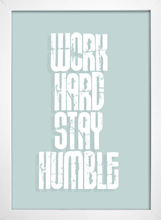 Poster Work Hard Stay Humble - loja online