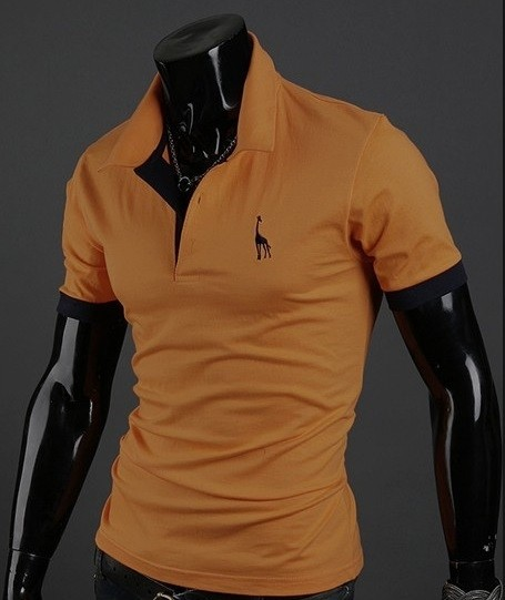 Camisa Polo European Embroidery - Laranja - comprar online