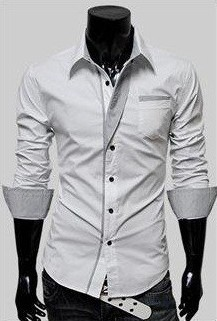 Camisa Casual Slim Fit Reveillon - Branca
