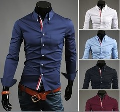 Camisa Casual Slim Fit MD02