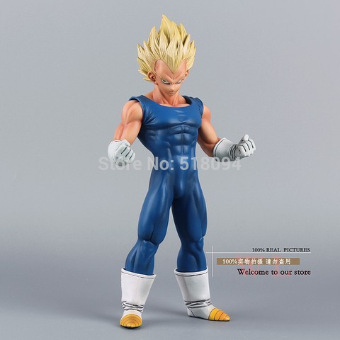 Boneco Dragon Ball Z Super Saiyan Vegeta 25 cm Altura - MD01