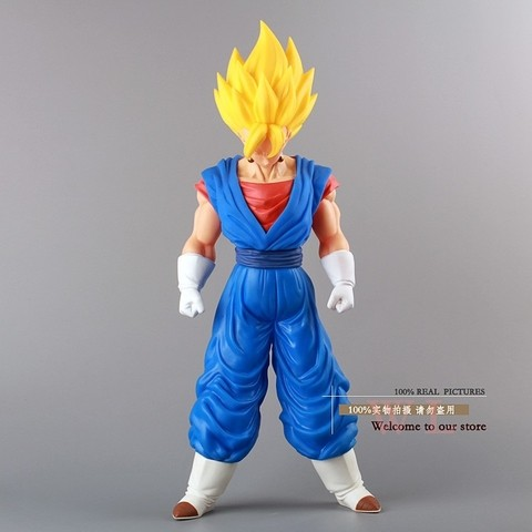 Boneco Dragon Ball Z Super Saiyan Vegeto 36 cm Altura - MD01