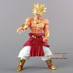 Boneco Dragon Ball Z Super Saiyan Broly 25 cm Altura - MD01
