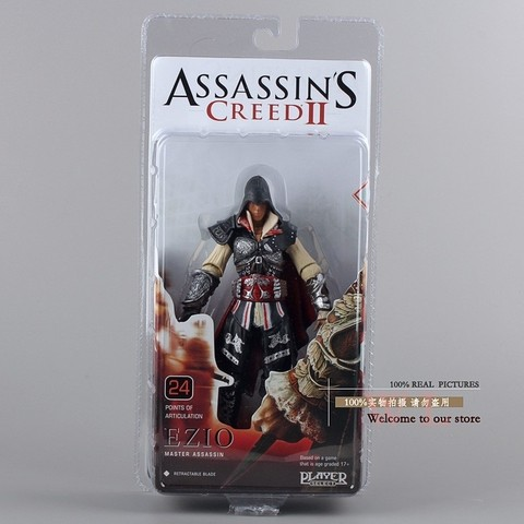 Boneco Assassins Creed Ezio Action Figure 18 cm Altura - MD01 - comprar online
