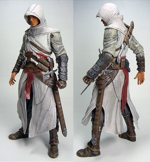 Boneco Assassins Creed Altair Action Figure 18 cm Altura - MD01