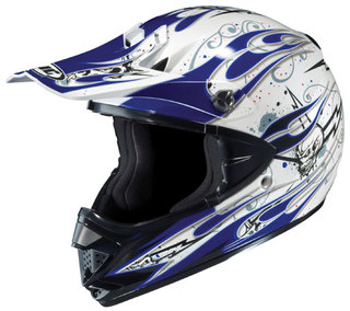 CASCO MOTOCROSS HJC (usa) linea CLX-5 y CS-MX, homologados aptos competicion