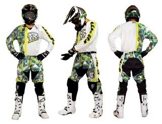 CONJUNTO MOTOCROSS RPM WARRIOR edic limitada -30% off