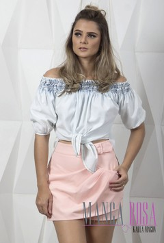 BLUSA STREND JEANS STONE
