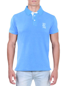 Camisa Polo RGW Azul 4014 Slim Fit