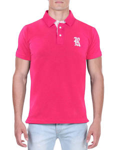 Camisa Polo RGW Rosa Pink 4014 Slim Fit