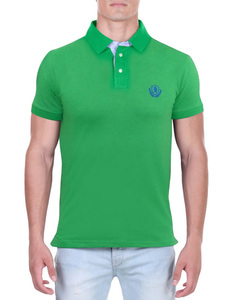 Camisa Polo RGW Verde 2997 Slim Fit