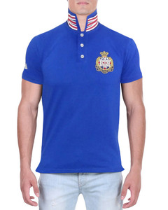 Camisa Polo TXKN Azul Royal gola UK