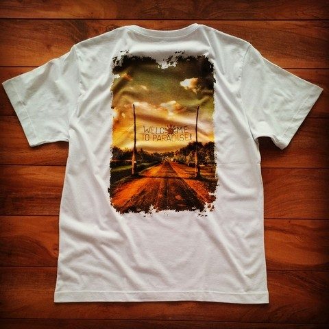 CAMISA WELCOME TO PARADISE