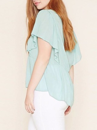 Blusa Lace Up Plus Size - Ref.1030 - comprar online
