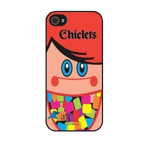 Case Iphone 4 4S - CHICLETS