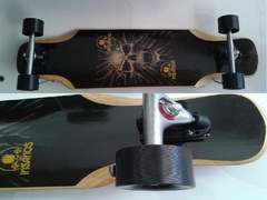 skate longboard  insanos  speed