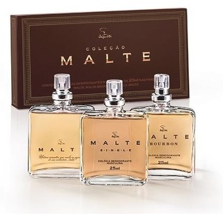 Estojo Malte Collection: 3 Colônias de 25ml cada [Jequiti]