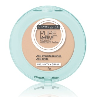 Pó Compacto Pure Makeup [Maybelline]